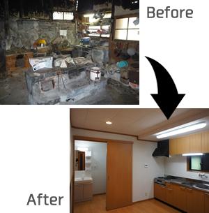 住宅の改築・リフォーム工事 施工事例