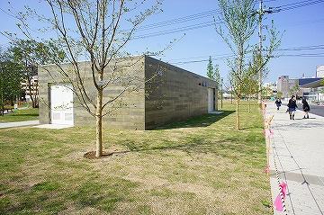 シンボルロード屋外トイレ及び防災倉庫新築工事