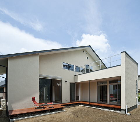 自然派志向の住宅