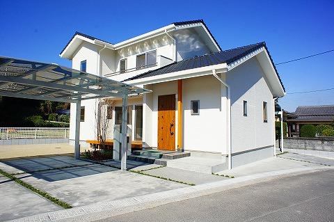 若い世代の洋風住宅